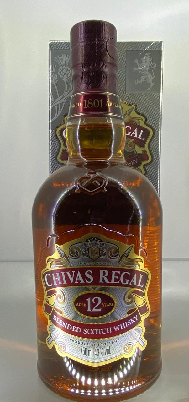 Chivas Regal 12 Year Old Blended Scotch Whisky